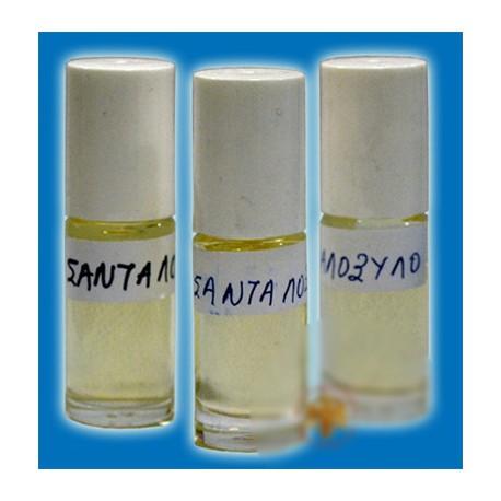 Svatý olej – (s aroma santalového dřeva) prostředek k duchovní očistě a ochraně