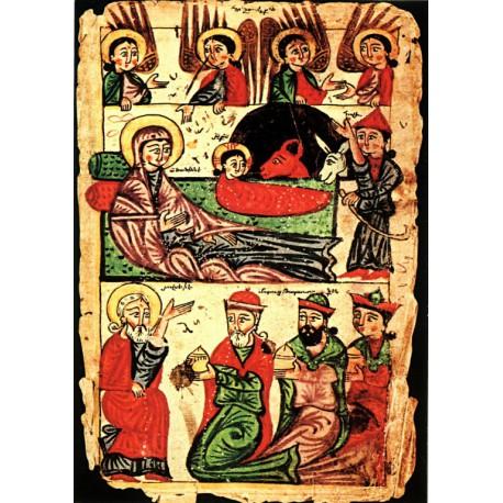 Arménská ikona Narození Krista