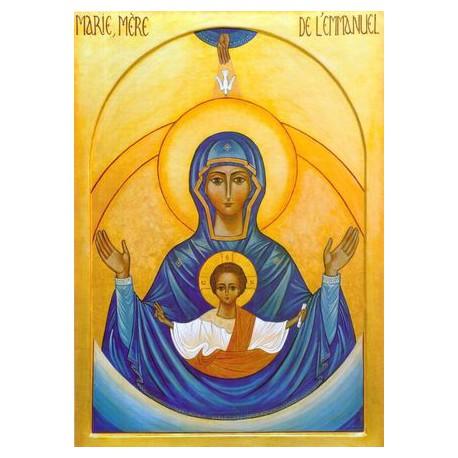 Maria - matka Emmanuale