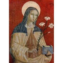 Svatá Klára (freska)