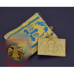 Filakto s kovovou ikonkou archanděla Michaela