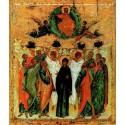 Ruská ikona Nanebevzetí přesvaté Bohorodice