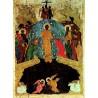 Ruská ikona Sestoupení Krista do podsvětí