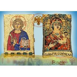 Filakto s Kristem a Pannou Marií