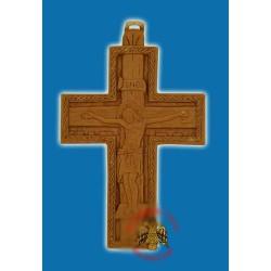 Byzantský kříž z vosku z řecké hory Athos