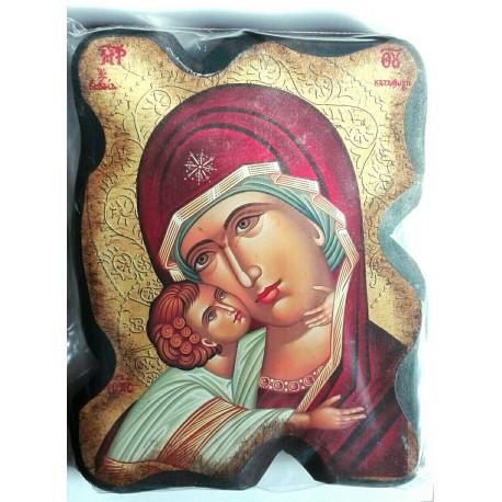 Ikona Panny Marie s Kristem (Antický styl)