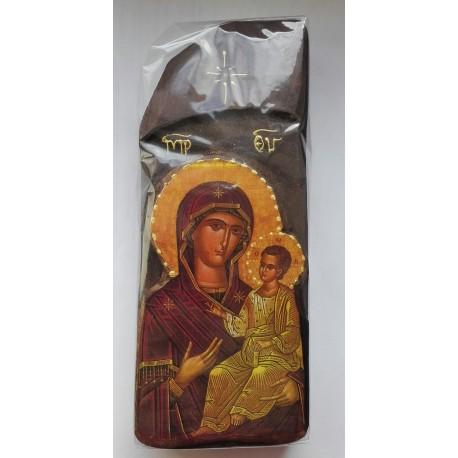 Starověká ikona s Pannou Marií