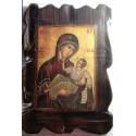 Athoská ikona Panny Marie Milostiplné