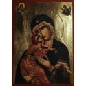 Ikona Panny Marie Sladkého polibku (Glykophilousa)