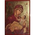 Ikona Panny Marie Zlaté (Chryse)