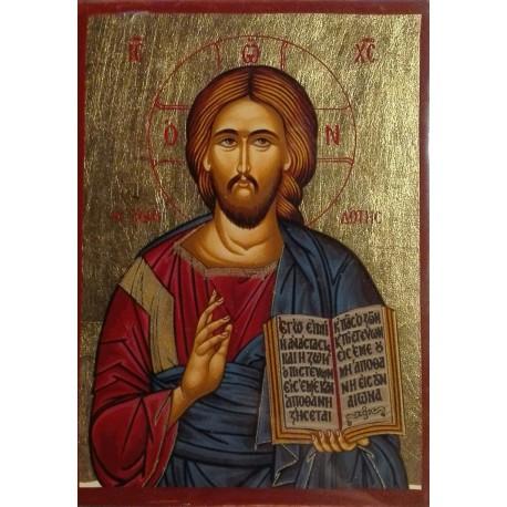 Kristus Dárce života (ikona na plátně)