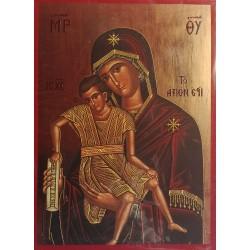 Ikona Panny Marie Axion Estin