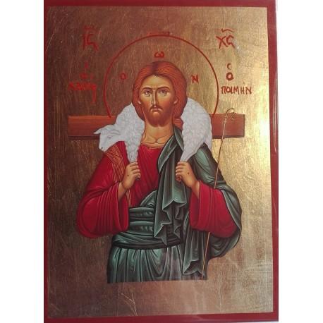 Ikona Ježíše Krista jako Dobrého pastýře