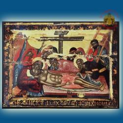 Nářek nad ukřižovaným Kristem