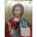 Ikona žehnajícího Krista