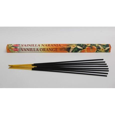 Vonné tyčinky - Vanilka-pomeranč