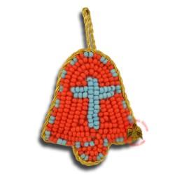 Filakton ve tvaru zvonečku (červený)
