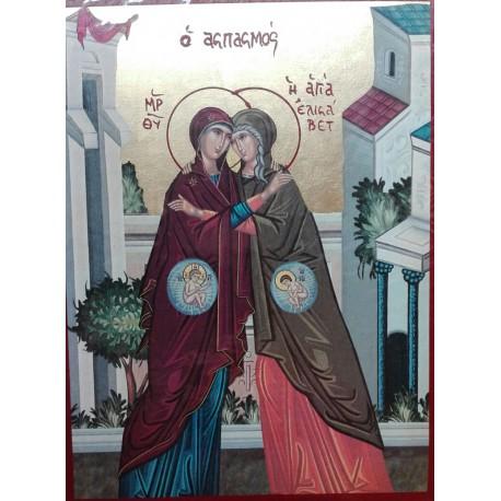 Ikona navštívení Panny Marie u Alžběty