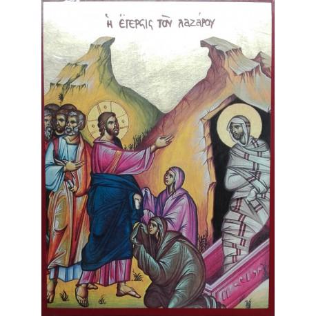 Ikona vzkříšení Lazara