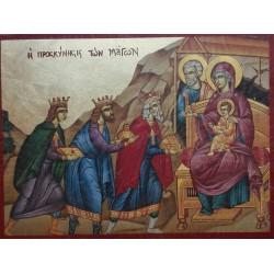 Ikona navštívení tří králů