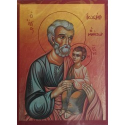Ikona sv. Josefa s malým Kristem