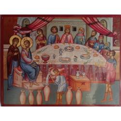 Kristus na svatbě v Káně galilejské