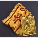 Filakto s kovovou ikonkou sv. Jana Křtitele
