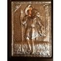 Kovová ikona sv. Kryštova (Christoforos)