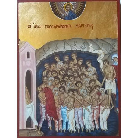 Ikona 40 mučedníků sevastijských