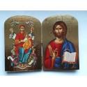Diptych - Kristus s Bohorodicí (Pantanassa)