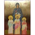 Svatá Sofia s dětmi