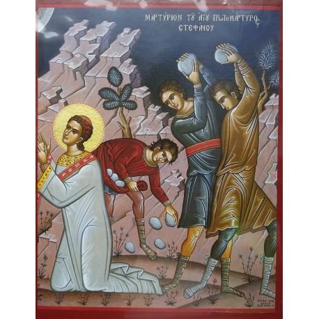 Ukamenování sv. Štěpána
