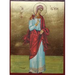 Ikona Svaté Agáty
