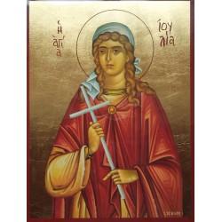 Ikona Svaté Julie