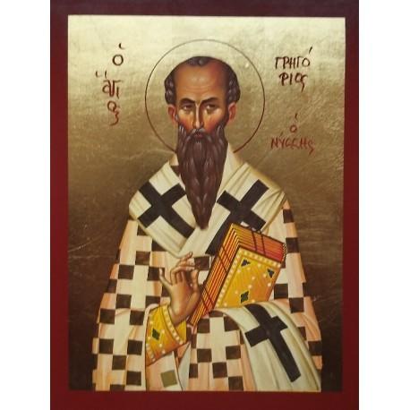 Ikona Svatého Řehoře z Nyssy