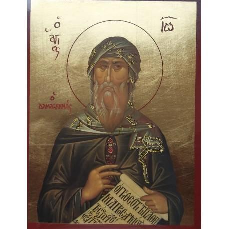 Ikona Svatého Jana Damašského