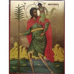 Ikona Svatého Kryštofa