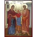 Panna Maria s rodiči