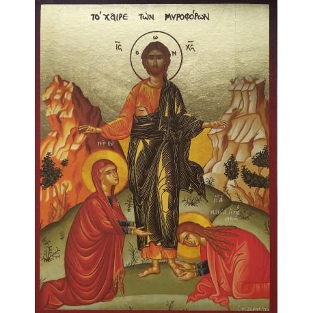 Ikona Krista, Marie a Marty