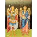 Svatí ochránci archandělé Michael a Gabriel