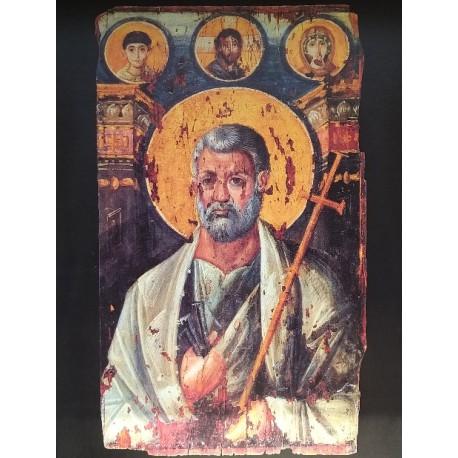 Ikona sv. Petra - Enkaustika