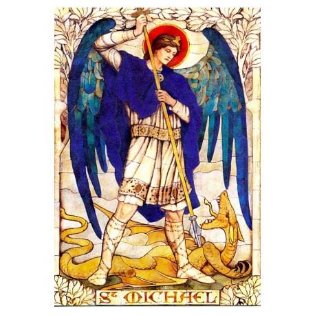 Vitráž - Archanděl Michael