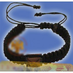 Pletený modlitební náramek B