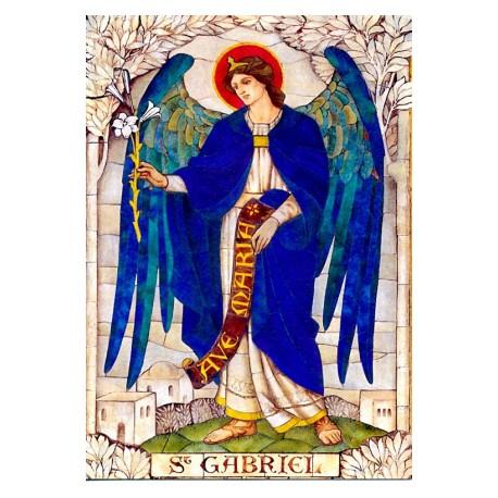 Vitráž - Archanděl Gabriel