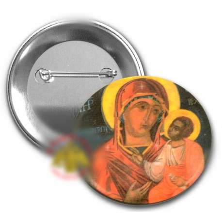 Odznáčky s Pannu Marií a Kristem B
