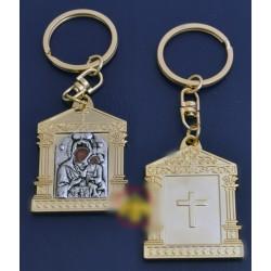 Klíčenka s Bohorodicí a Kristem III.