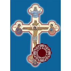 Byzantský kříž s ikonou