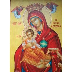 Ikona Panny Marie - Panna a dítě