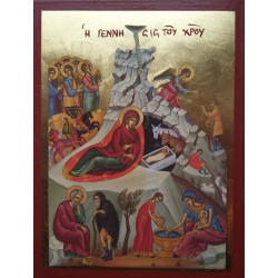 Ikona narození Ježíše Krista