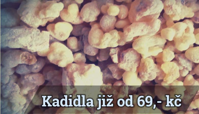 Kadidla již od 69,- Kč